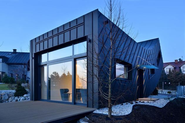 Проект необычного дома 5