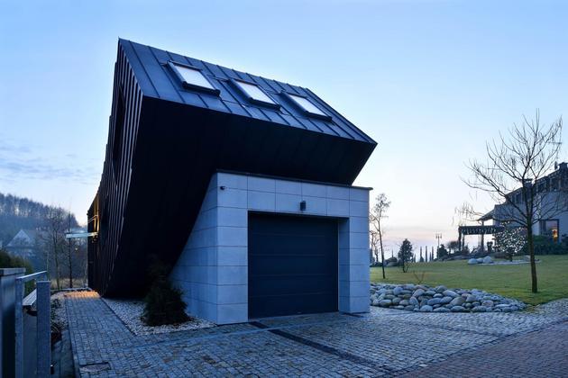 Проект необычного дома 3