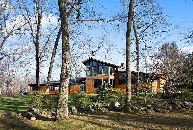 деревянный дом в стиле ранчо 3