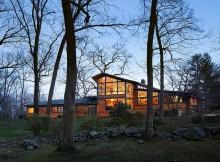 Деревянный дом в стиле Ранчо (14)