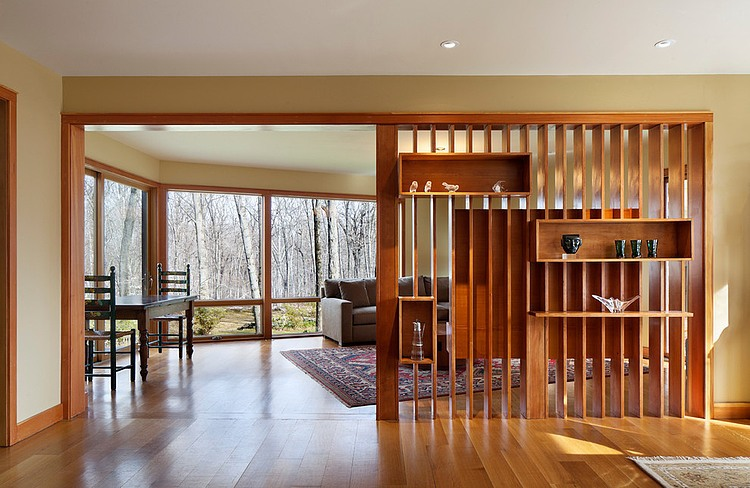 деревянный дом в стиле ранчо 7