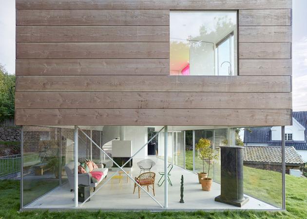 Дом с винтовой лестницей - фото 6