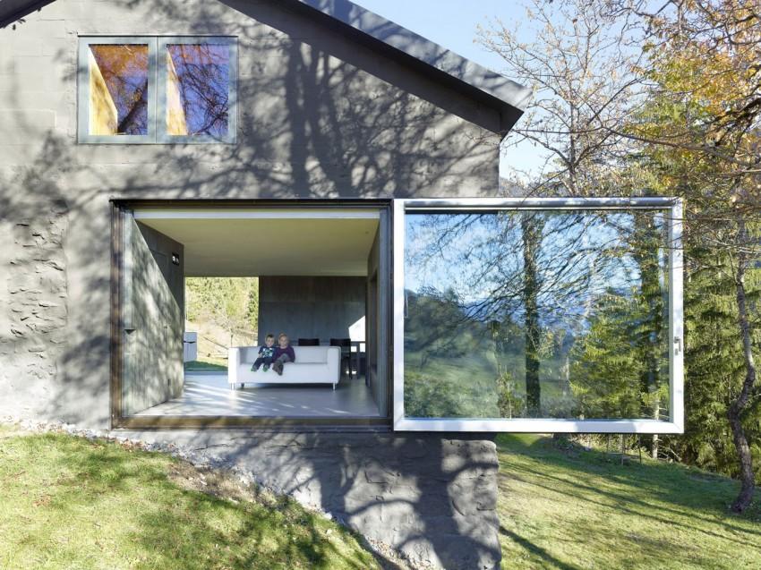 Фото загородного домика в стиле минимализм