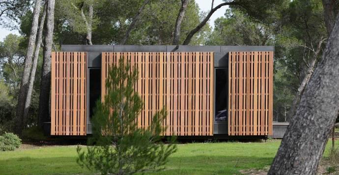 Одноэтажный сборный дом (5)
