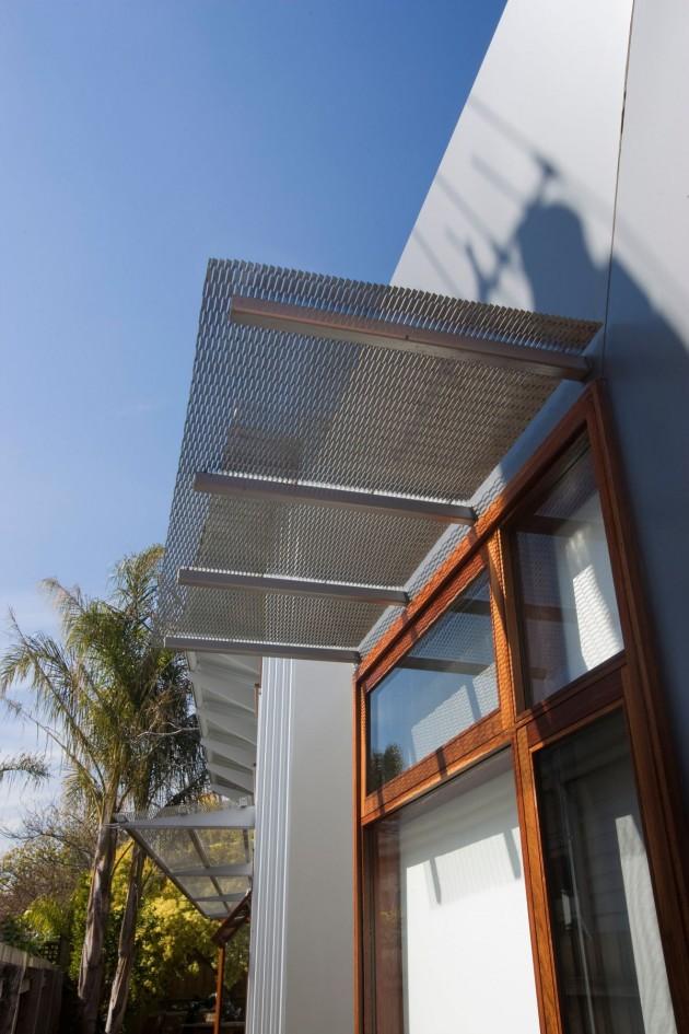 дом с односкатной крышей фото 3