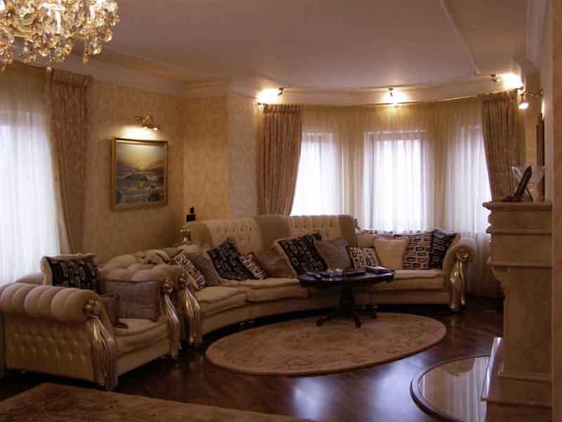 Дизайн гостиной в частном доме фото 20