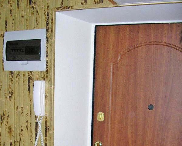 Дверной проем для входной двери своими руками