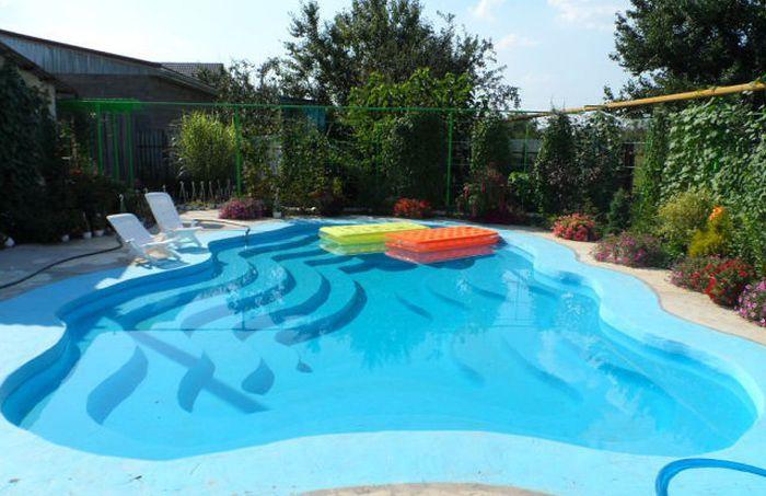 Как сделать бассейн в огороде своими руками 56