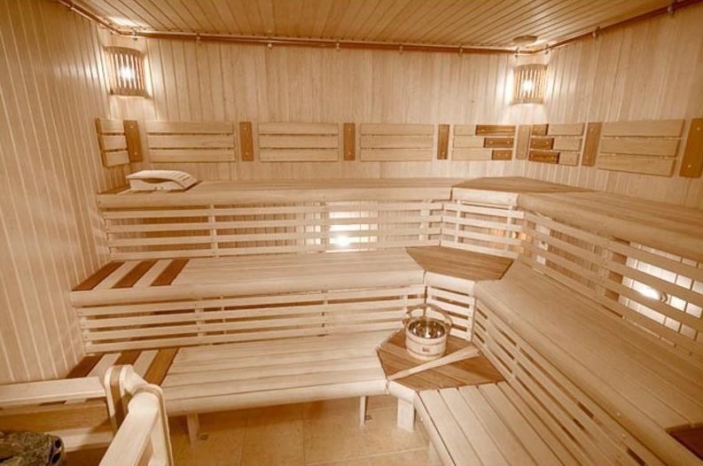 Строительство сауны своими руками фото