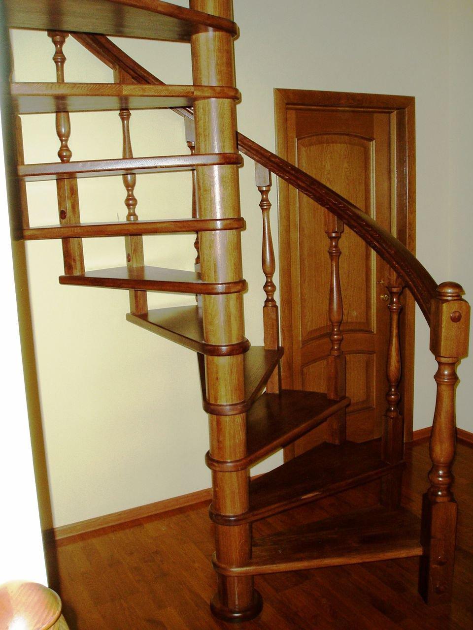 Фото винтовых лестниц своими руками