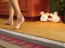 как сделать теплый пол