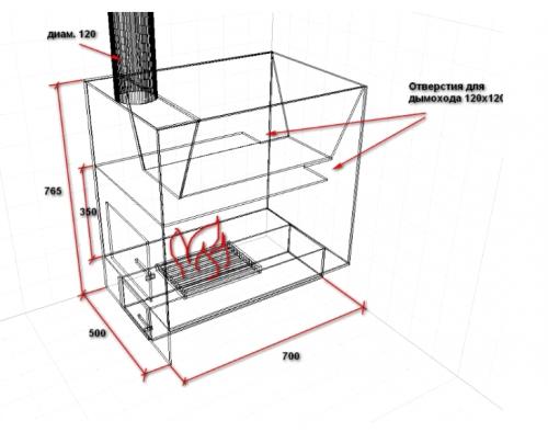 Конструкции металлических печей для бани - Свой дом мечты