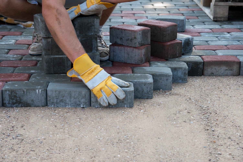 Укладка тротуарной плитки своими руками цена работы