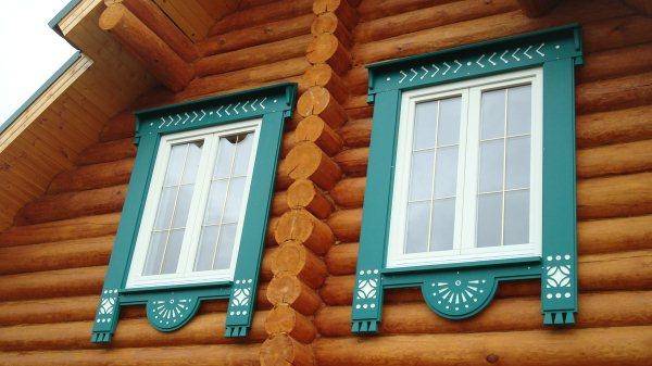 Обналичники на окна в деревянном доме своими руками фото