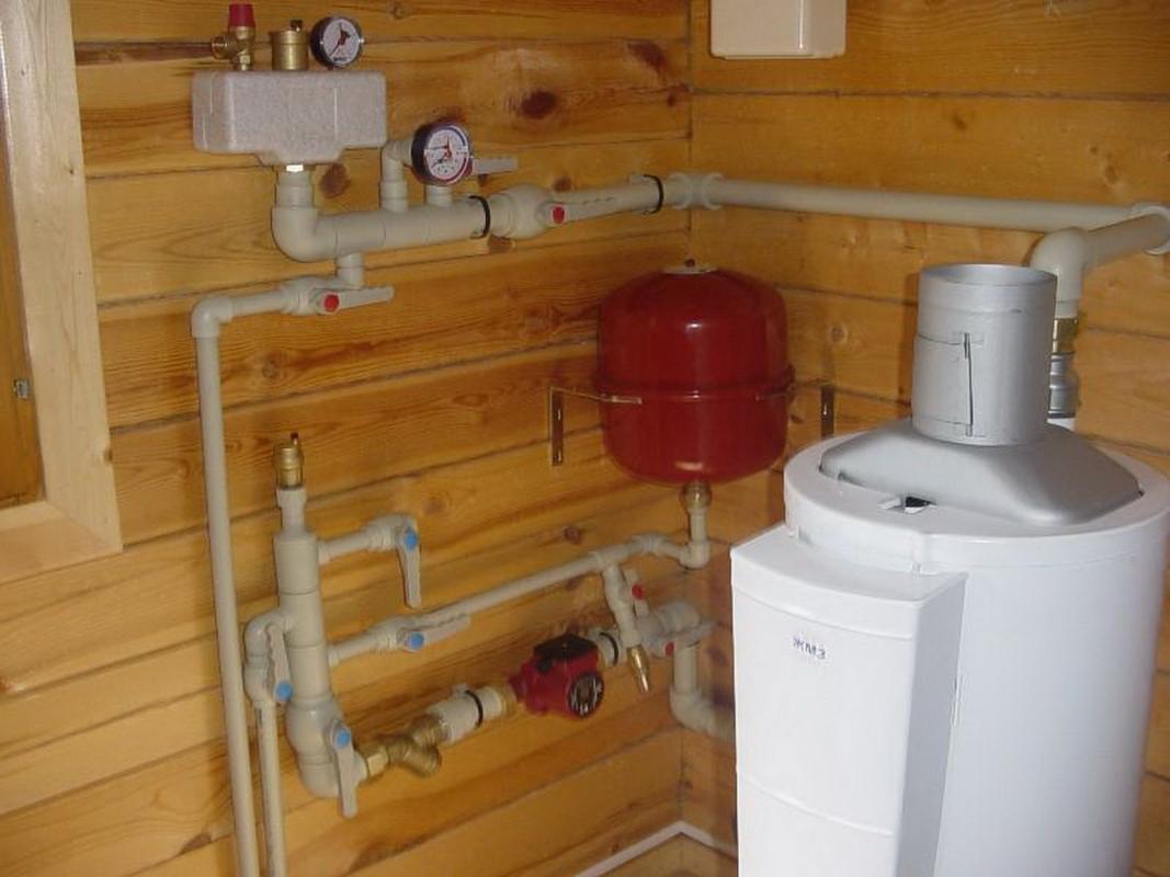 схема разводки систем отопления