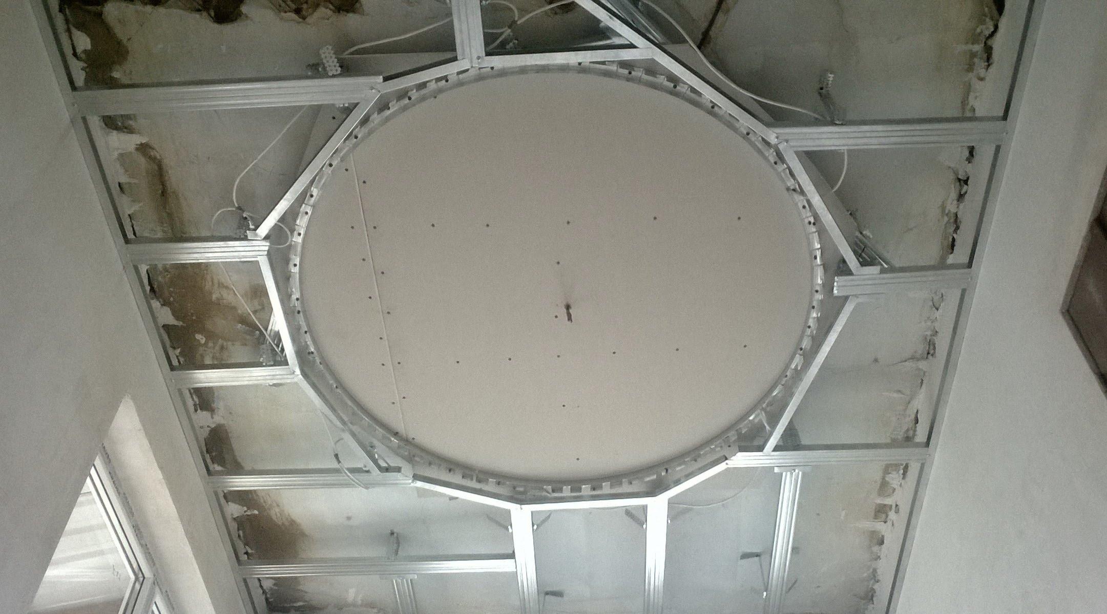 Потолок из гипсокартона своими руками фото в спальню