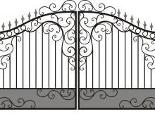 изготовление металлических ворот своими руками