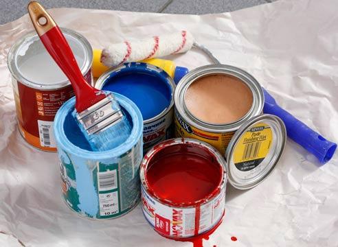как покрасить вагонку