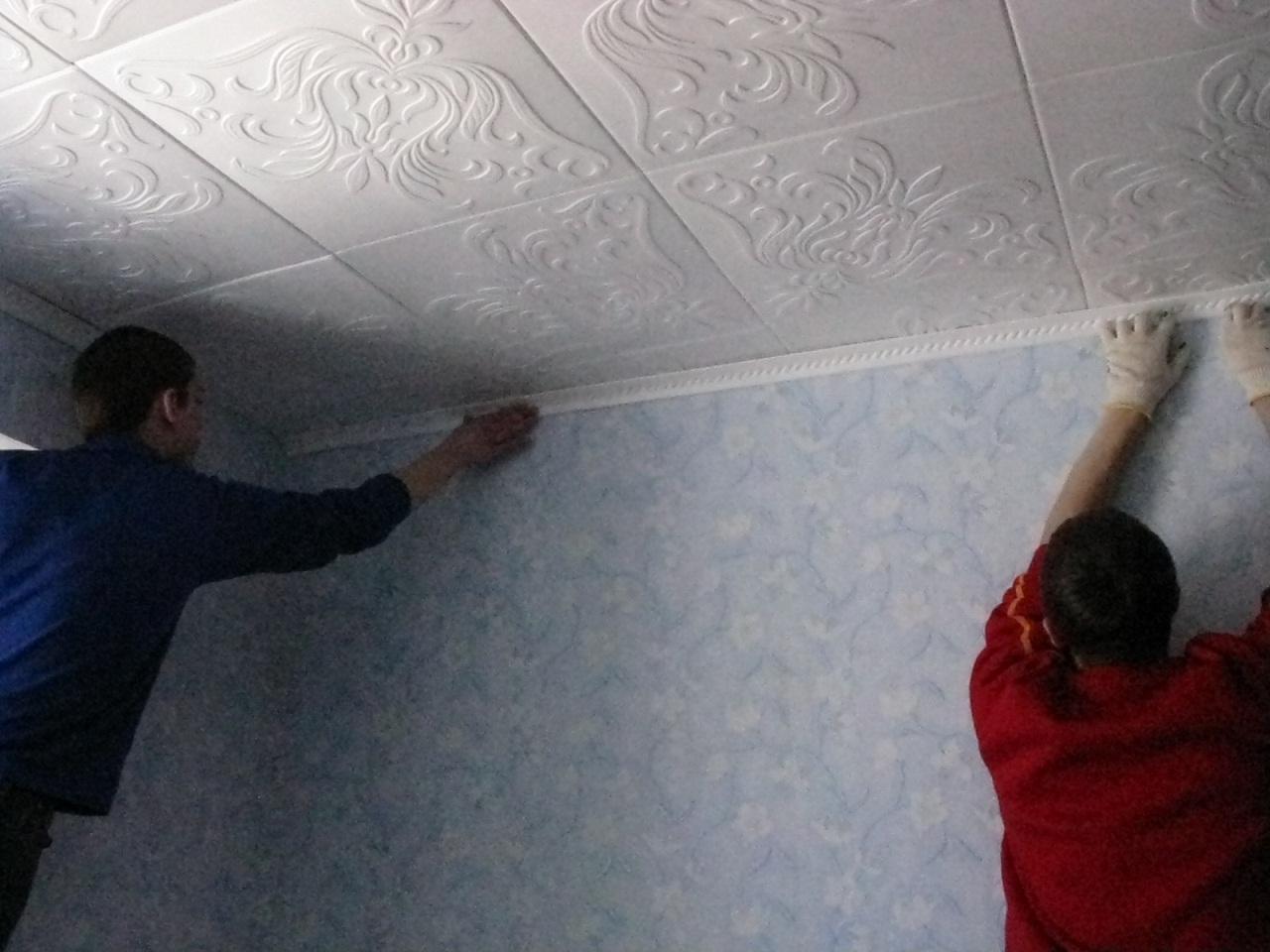 Финишная отделка потолка своими руками 29