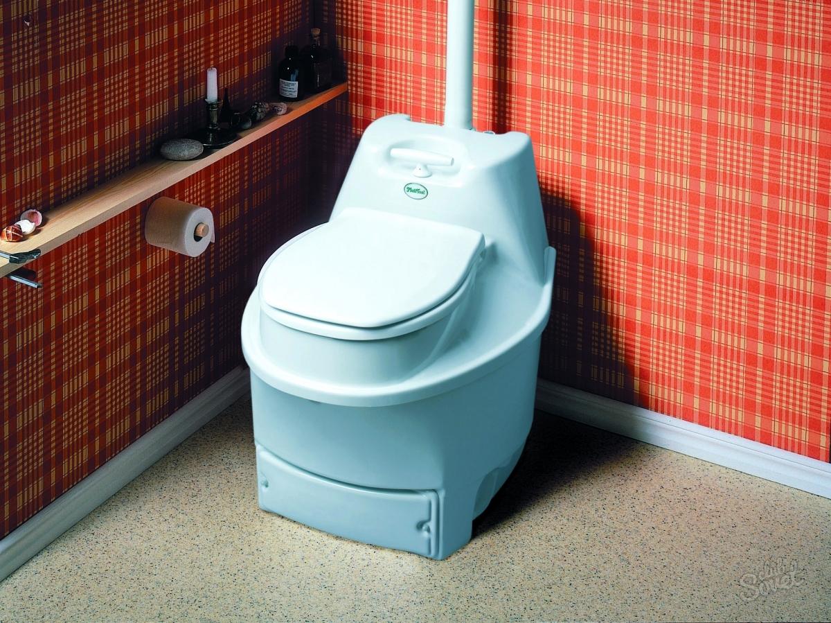 Туалет дома своими руками фото