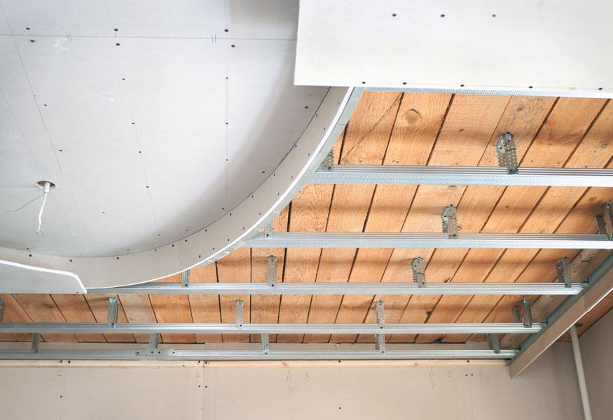 Каркас для потолка из гипсокартона - как сделать? - Свой дом мечты