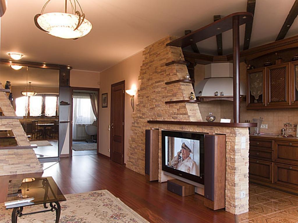 Дизайн комнат в частном кирпичном доме