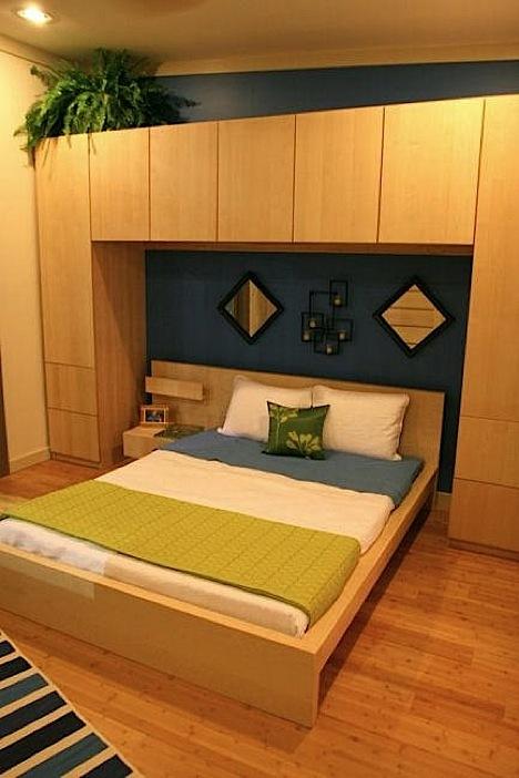 спальня в сборном доме