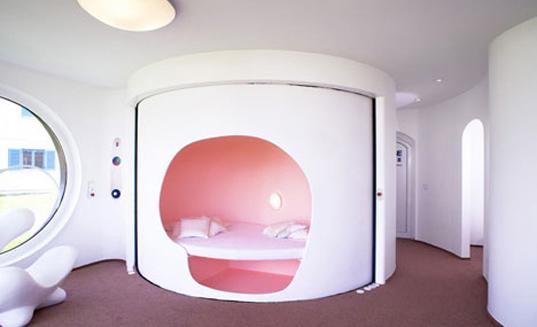 лучший дачный домик спальня
