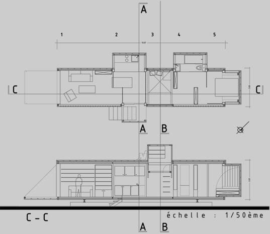 проект модульный дом