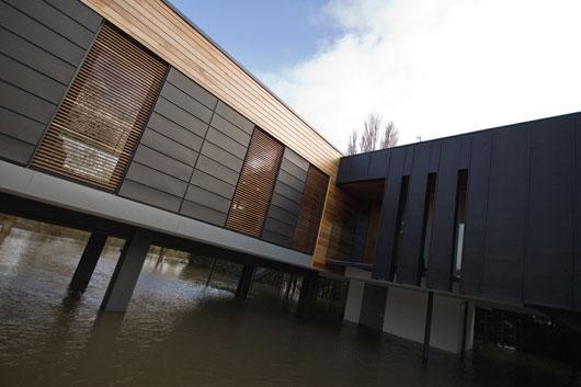 Дом у реки проект