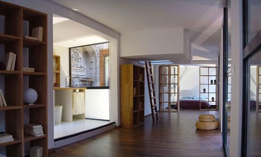 модульный дом интерьер