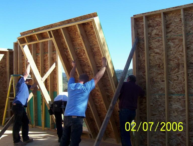 сборный дом строительство