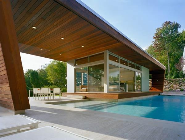 фото домов с бассейном