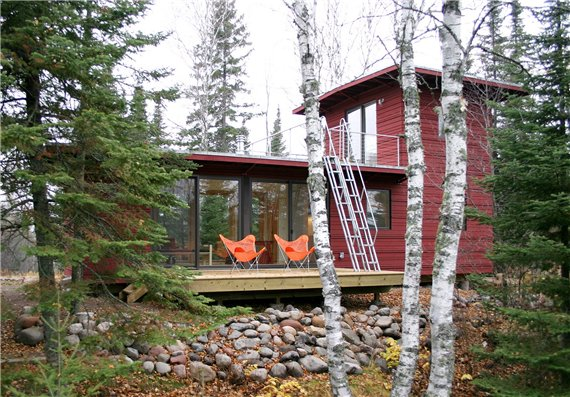 Дом с палубой