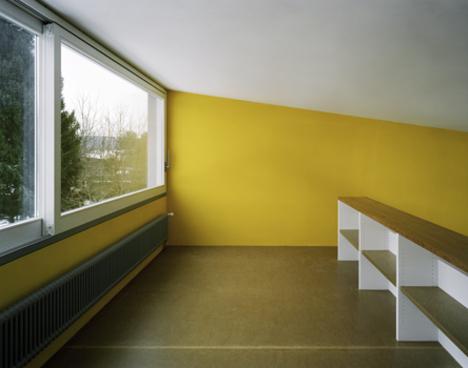 Современный дом окна