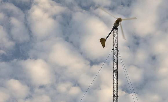 автономный дом ветрогенератор