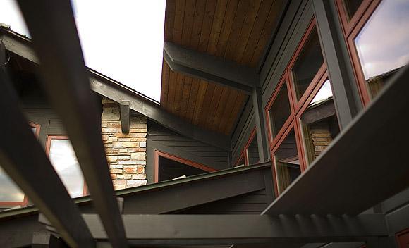 автономный дом крыша