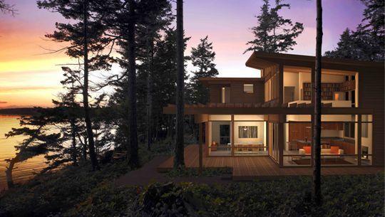 сборные деревянные дома