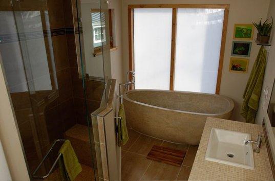 Дом с тремя спальнями - ванная