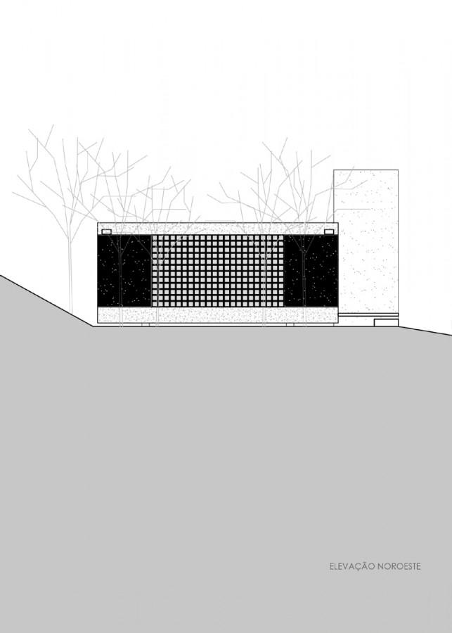 Дом на склоне проект