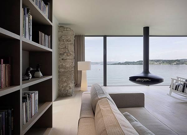 гостиная прибрежного дома