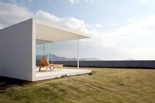 Японский дом простых форм - Minami Boso, Япония