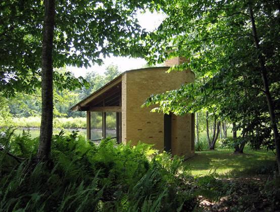 Медитационный проект павильона архитектора Дэвида Коулмана