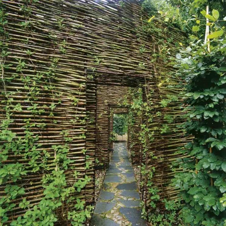 Скандинавский дом - сад