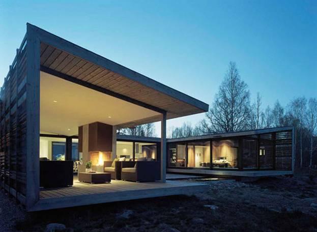 Дом архитектурной студии WRB