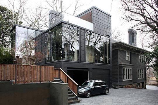 разноуровневый дом фото
