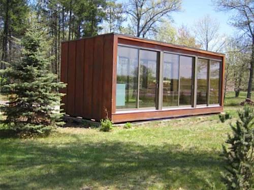 Экологичный  домик