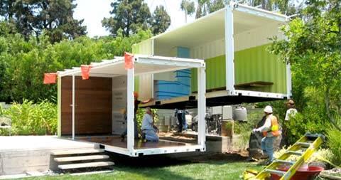 Дома из контейнеров строительство