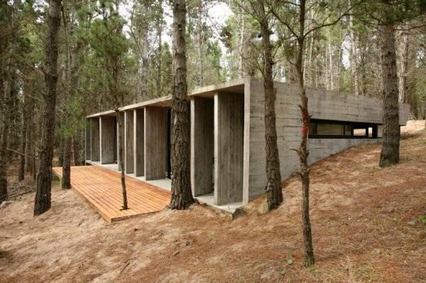 фото бетонного дома