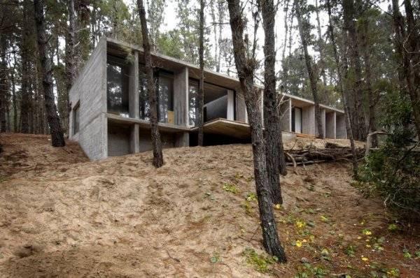 проект бетонного дома
